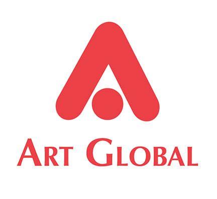 Image: logo art global rouge